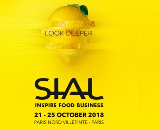 Welcome to our stand at SIAL, Paris, 21-25 October